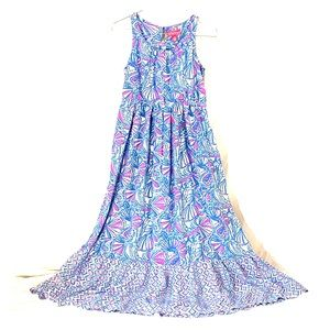 Lilly Pulitzer Girls Maxi Dress Size Large 10/12